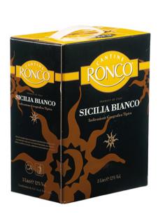 Rượu vang Ronco Sicilia Bianco White